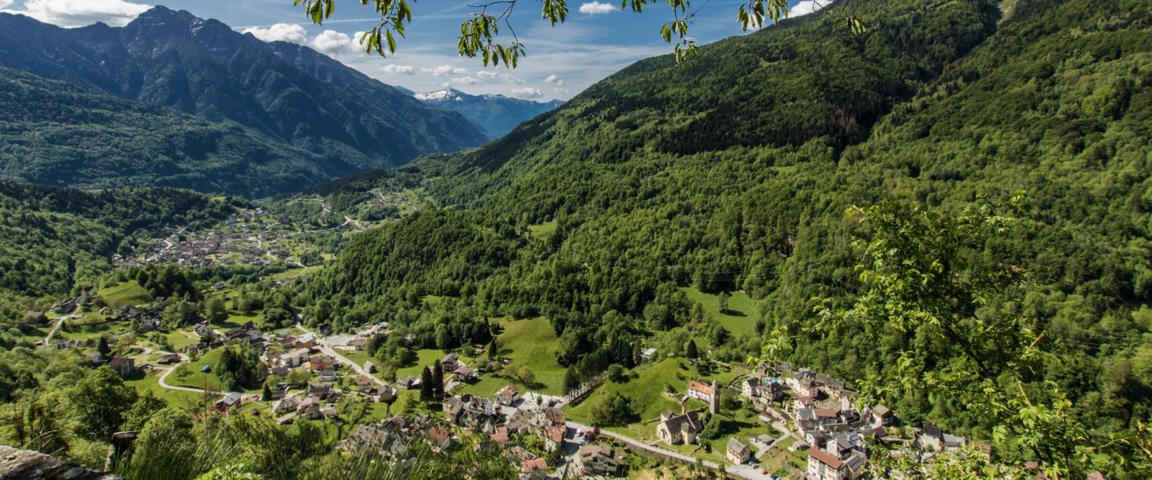 Veduta sulla Valle Antigorio - ph. Marco Benedetto Cerini